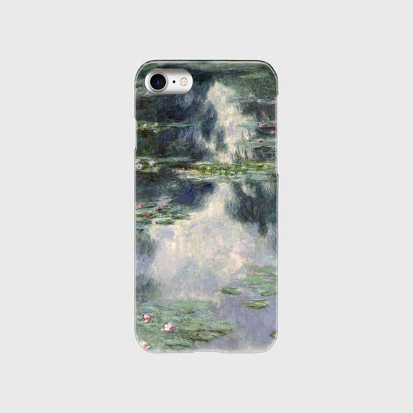 モネ「睡蓮の池 1907」 スマホケース