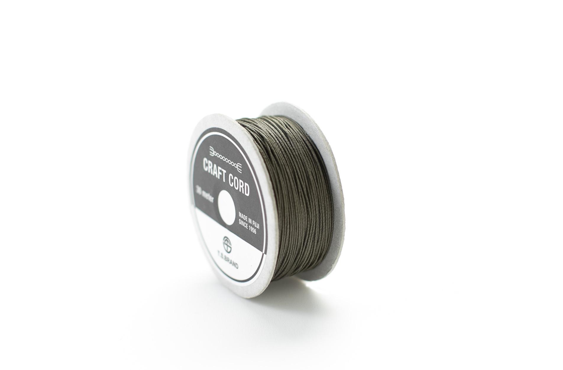 WAX CORD /MOSS GREEN /0.5㎜ /30meter
