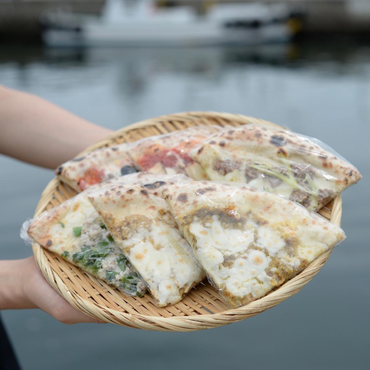 【カレーが夏うま!】北林シェフが焼いたすり身のピッツァ6枚セット