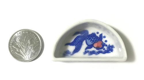 水盘 金魚(半月型)