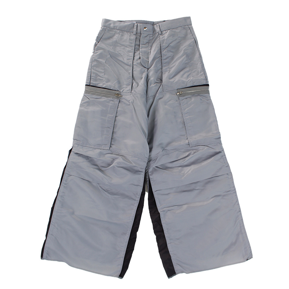 BRYAN JIMENEZ Nylon Wide Trousers