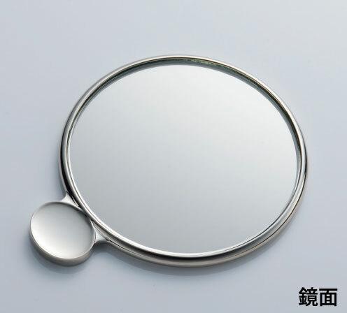 カタガミメタル手鏡S 竹と鶴 KA-150/TaTu