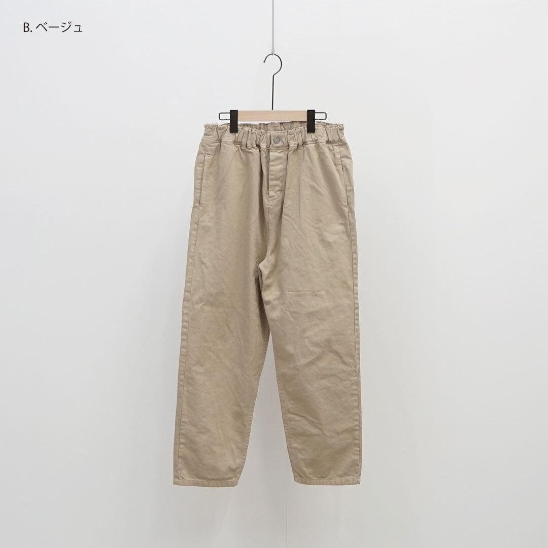 【2020/秋冬再入荷予定】 ichi イチ コットンカラーパンツ (品番190938)