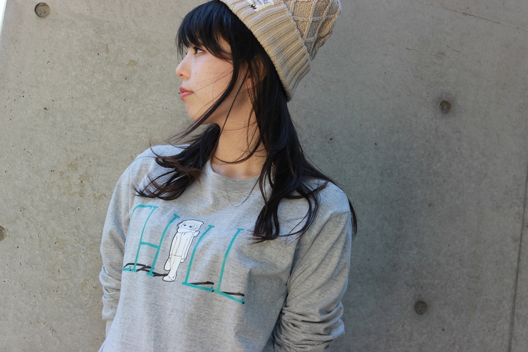 CHILL GIRL L/S T-Shirt - 画像1