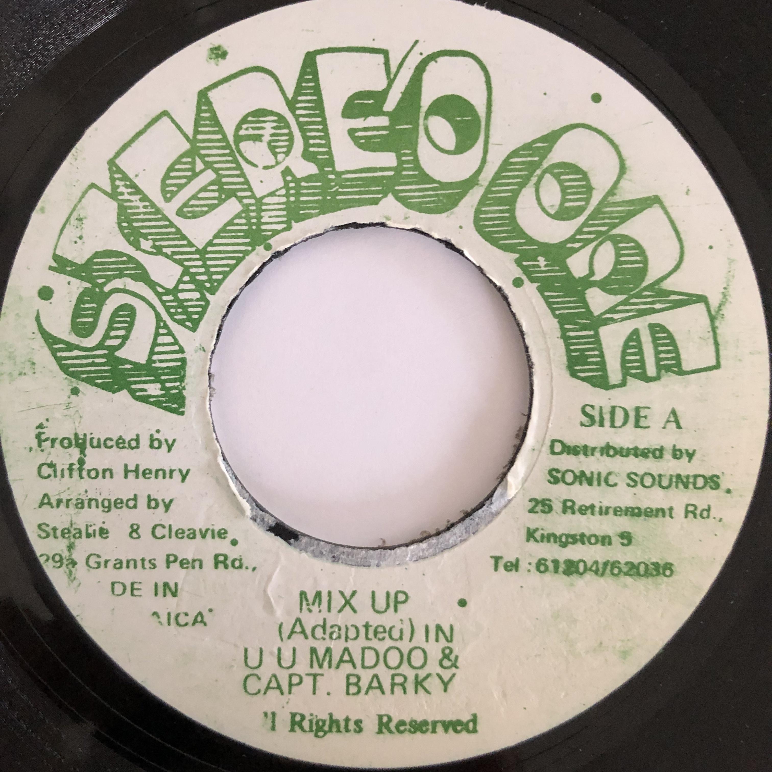 UU Madoo, Captain Barkey - Mix Up【7-20034】