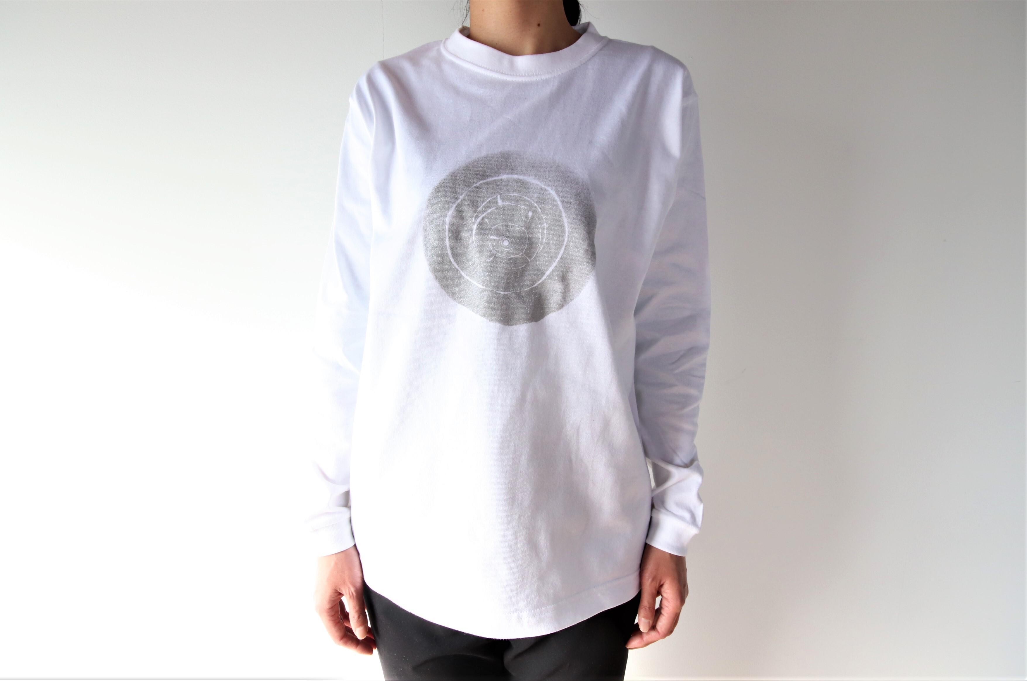 長袖Tシャツ(梅田哲也イン別府)丸井戸