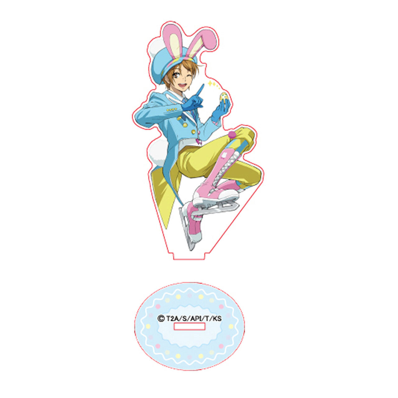 【4573155998790】KING OF PRISM -Shiny Seven Stars- ヒロ アクリルスタンド イースターver