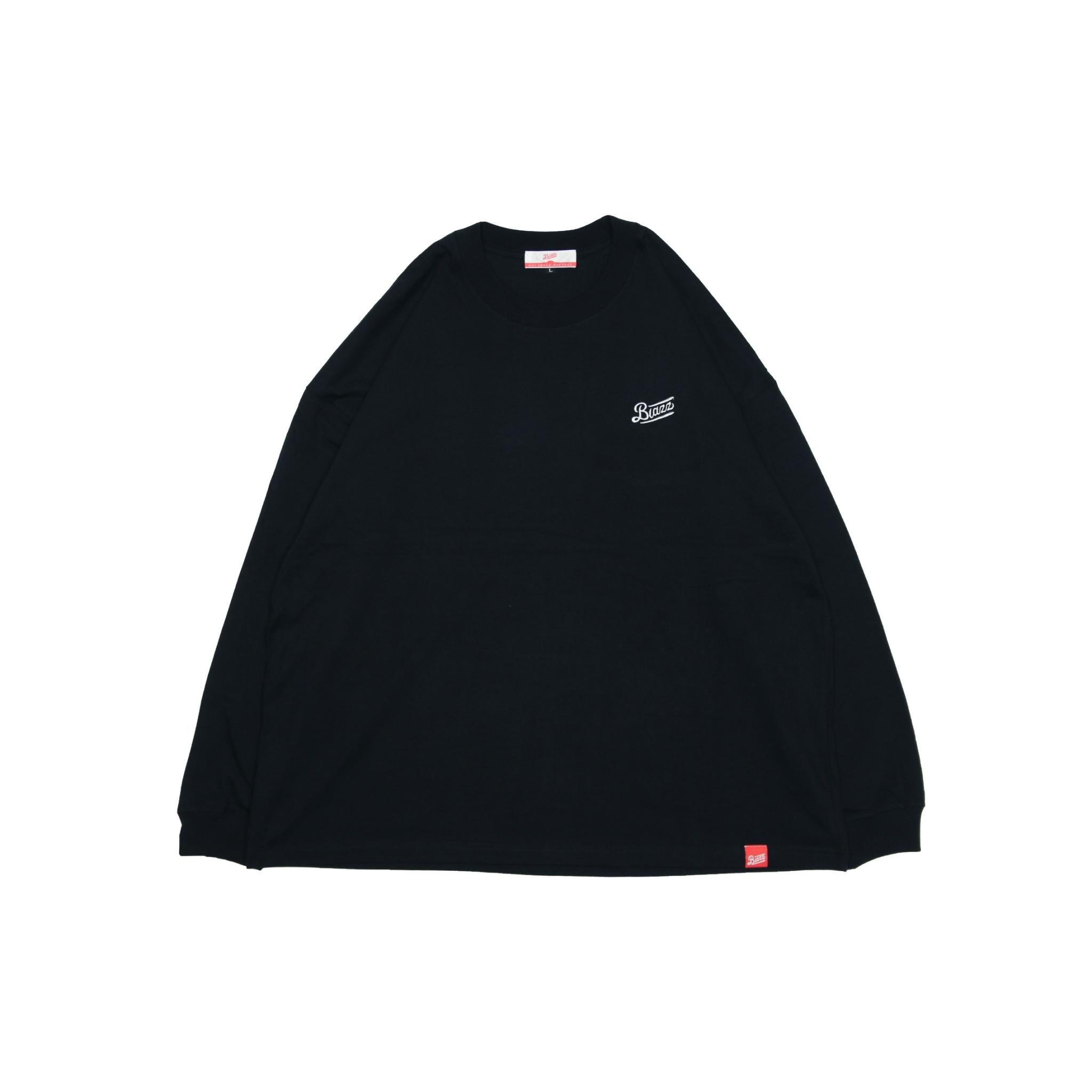 LOGO BIG L/S TEE [BLACK]
