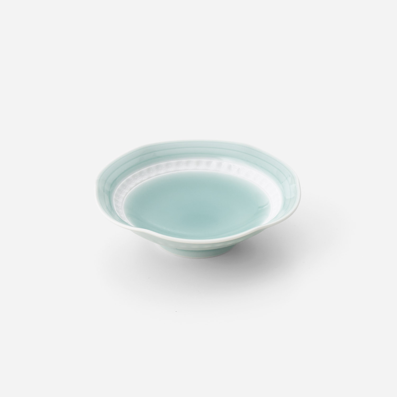 青磁印花 小鉢