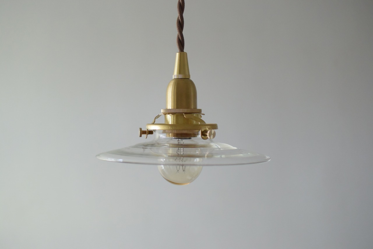 硝子ミニ電傘照明 (※現行品です)