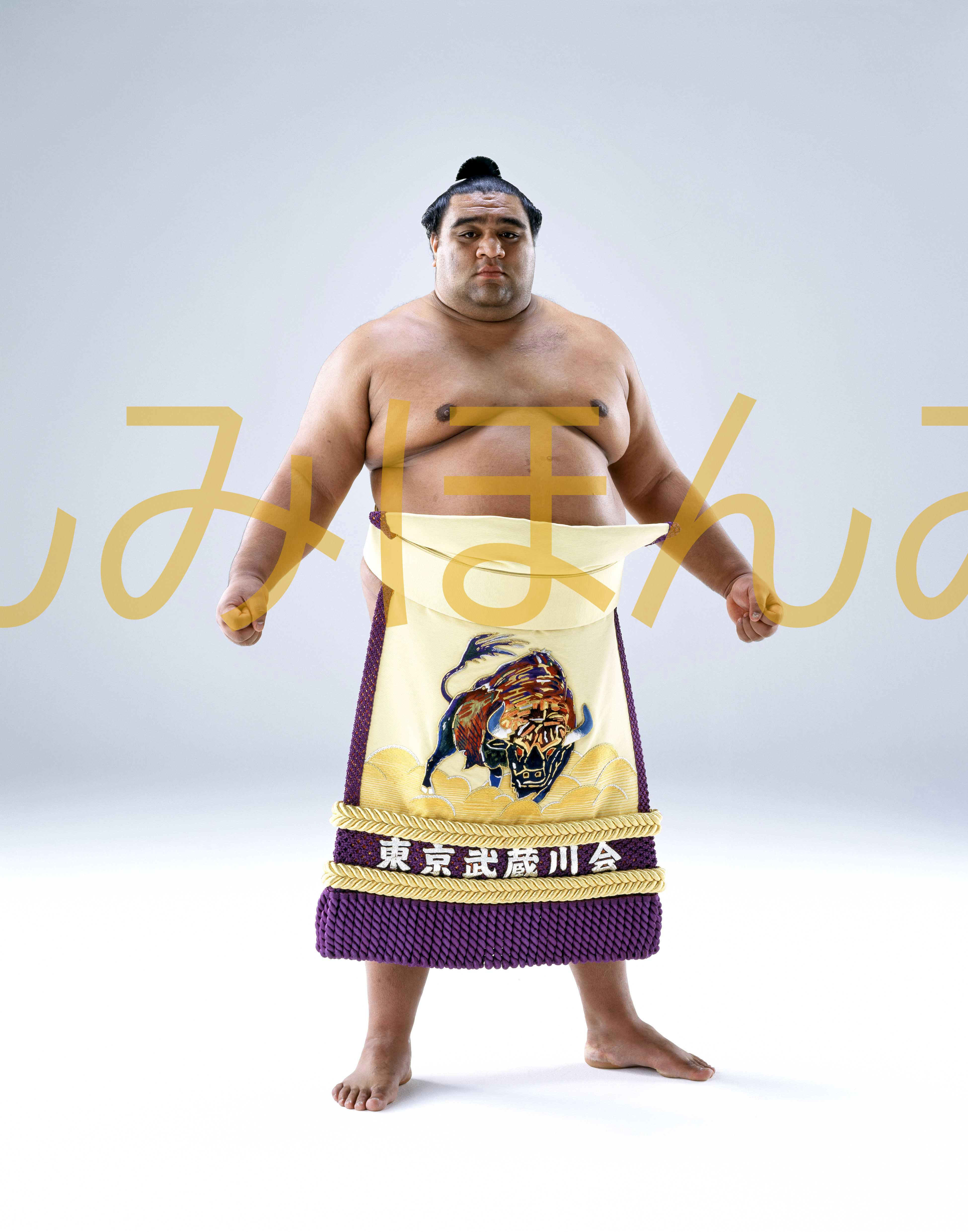 平成11年5月場所優勝 大関 武蔵丸光洋関(5回目の優勝)