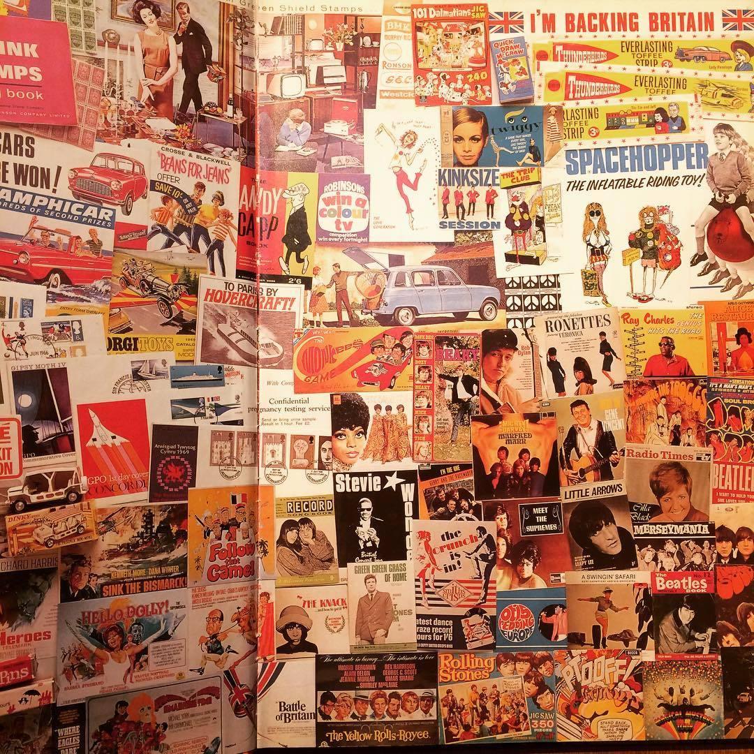 60年代デザイン ビジュアルブック「The 1960s Scrapbook/Robert Opie」 - 画像3