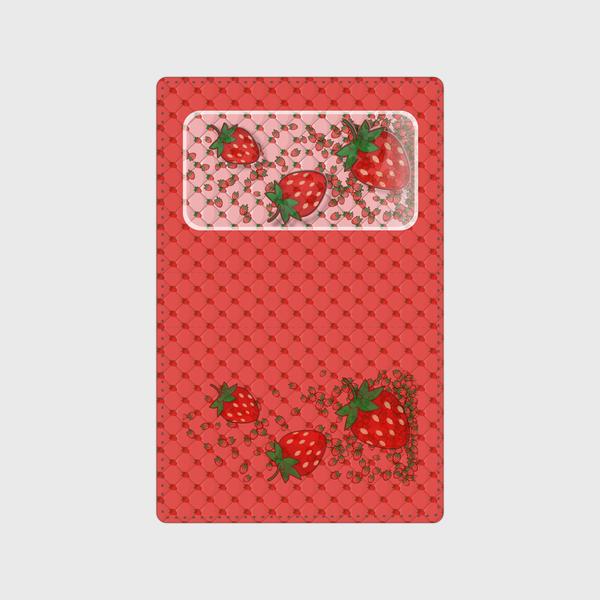 【カードケース】ちびいちごのいちご