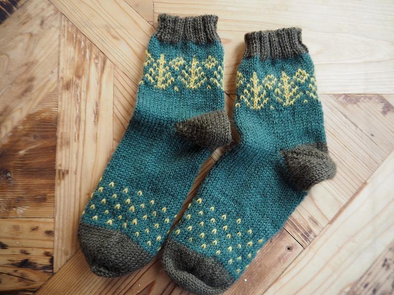 おばあちゃんの手編み靴下・ツリー