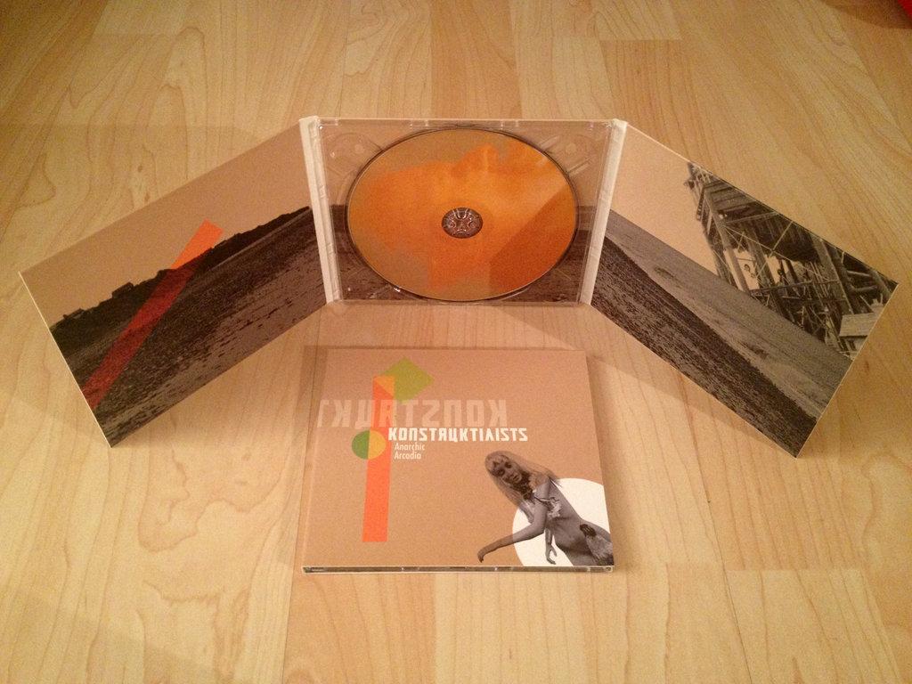 Konstruktivists- Anarchic Arcadia CD - 画像2