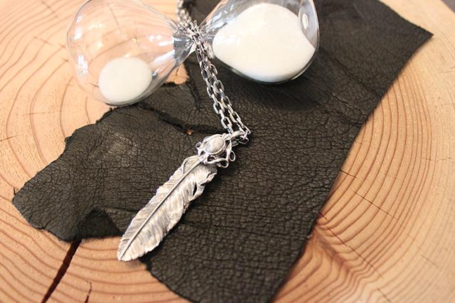 Designers Jewelry buff 千年フェザーマグネサイト付きペンダント(千年フェザーL1)