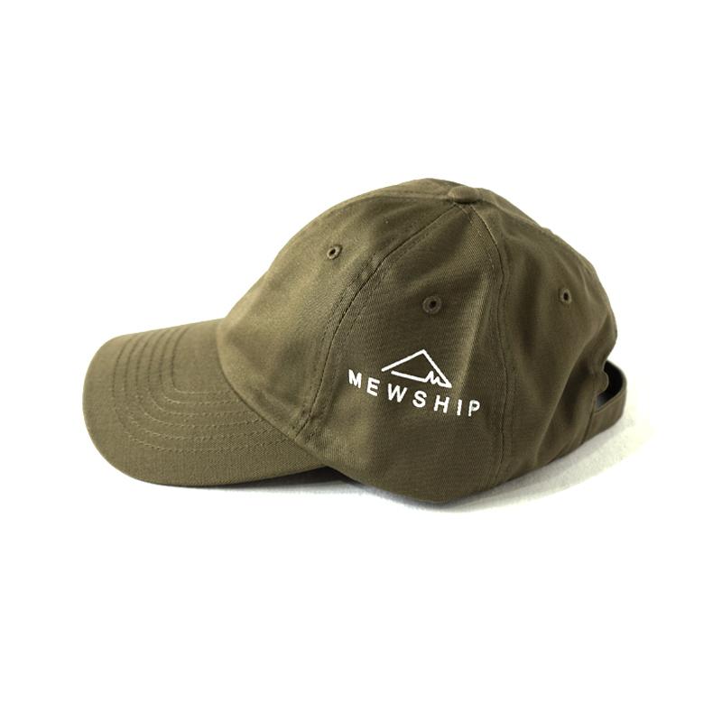 LOGO TWILL CAP <Olive×White> - 画像1