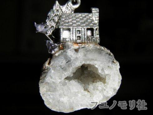 ネックレス - 晶洞つき物件 - フユノモリ社 - no5-fuy-09