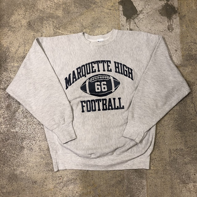 Champion Reverse Weave Marquette High Foot Ball