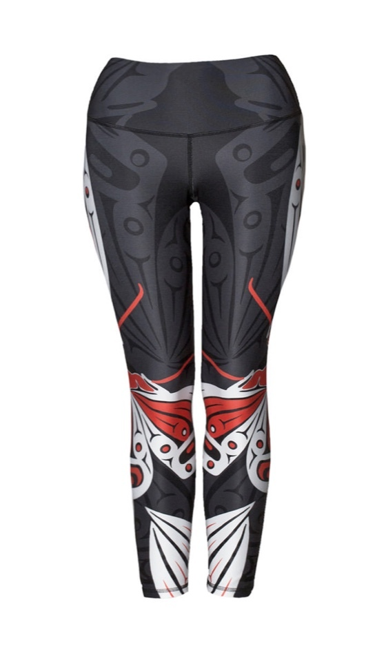 Butterfly Red Legging