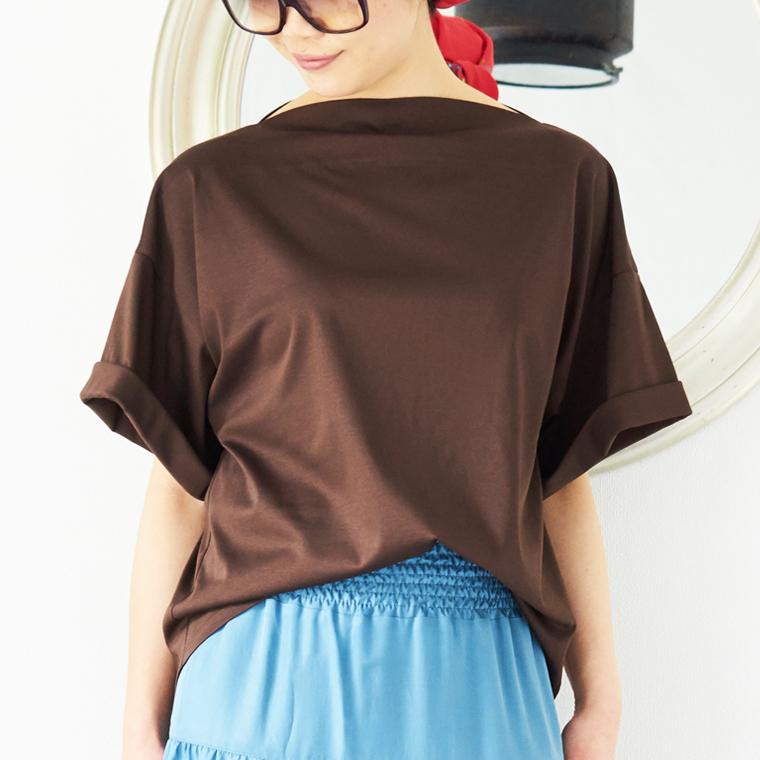 L'Ancre (アンカー)ラフシックドレスTシャツ