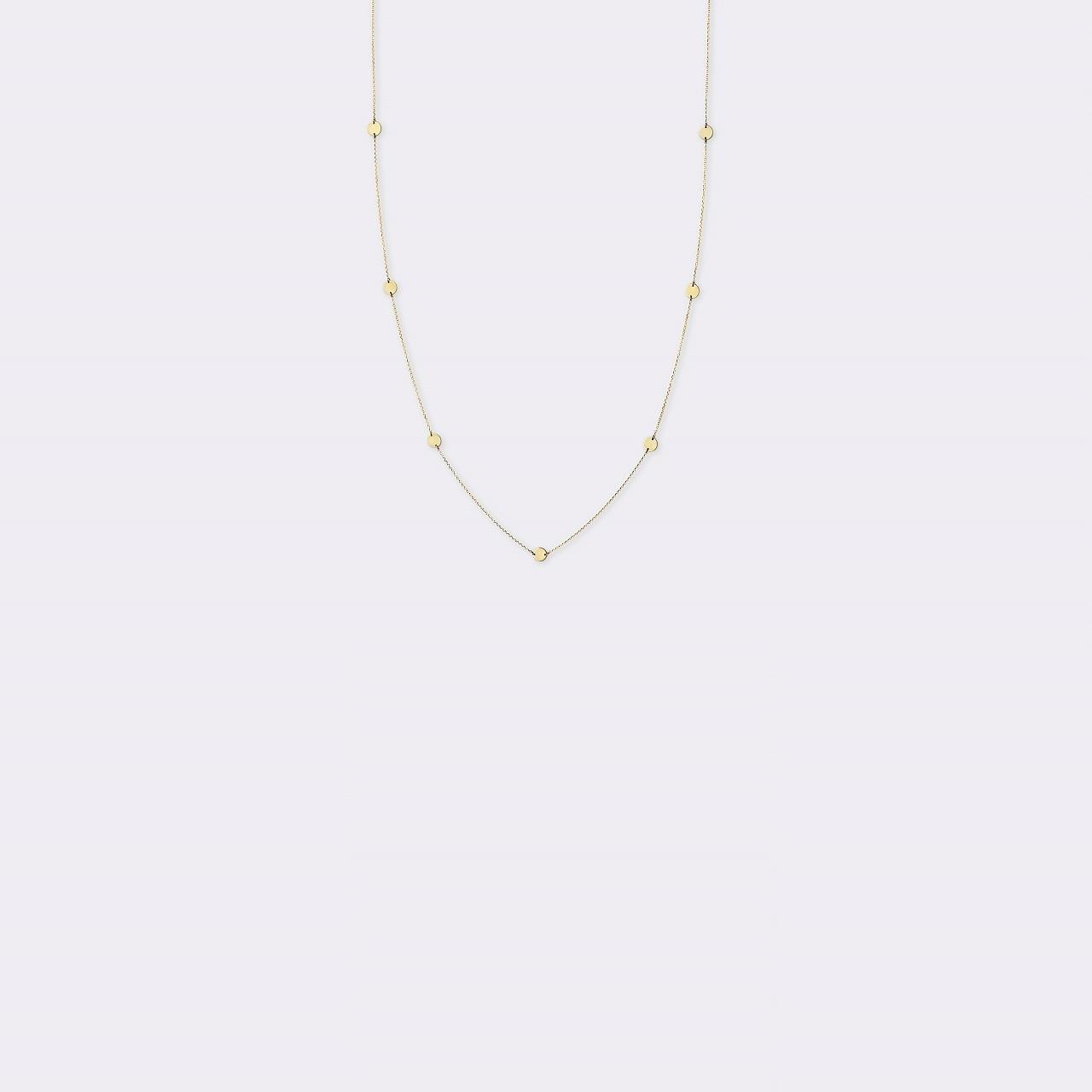 Ripple Necklace K18YG(リップルネックレス K18イエローゴールド)