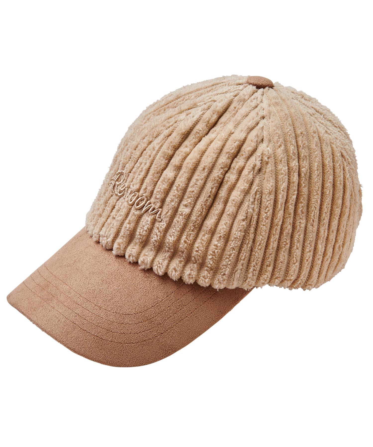 3D LOGO CORDUROY CAP[REH100]