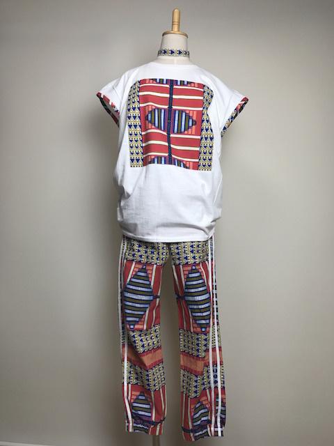 【オーダーメイド】リメイクTシャツ&ジョガーパンツ