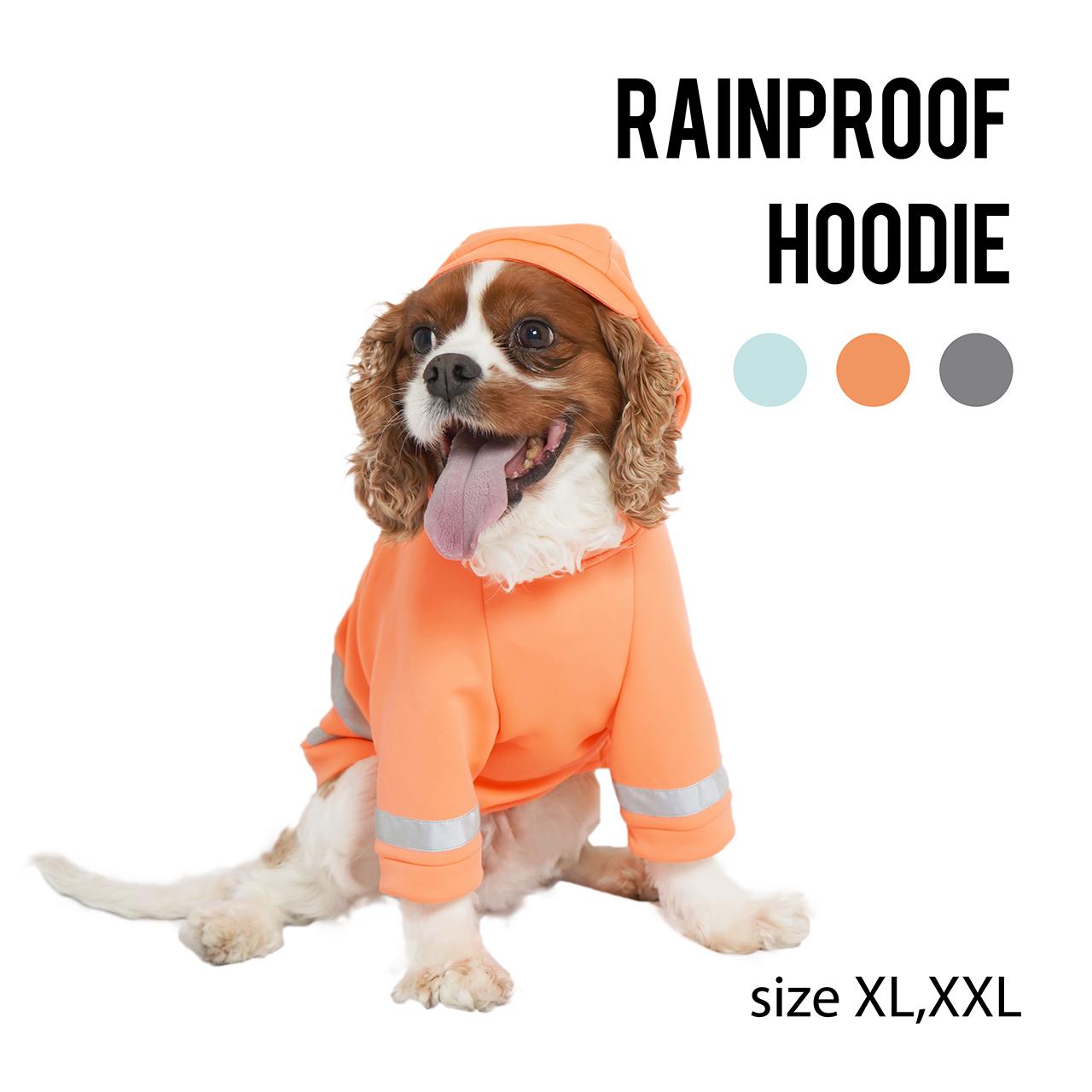 RAINPROOF HOODIE(XL,XXL)レインプルーフ