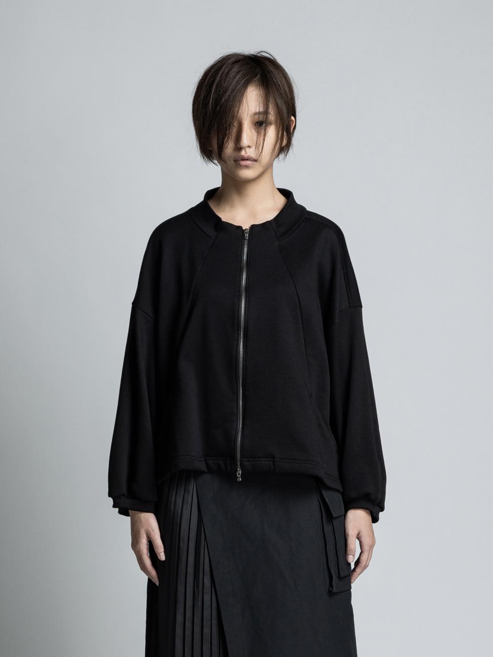 VI-3221-01 / 裏毛 ジップアップブルゾン
