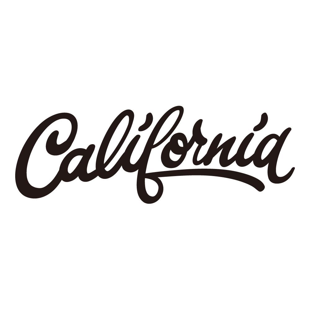 """限定!CALIFORNIA ブラック 001 カッティングステッカー """"California Market Center"""" アメリカンステッカー スーツケース シール"""