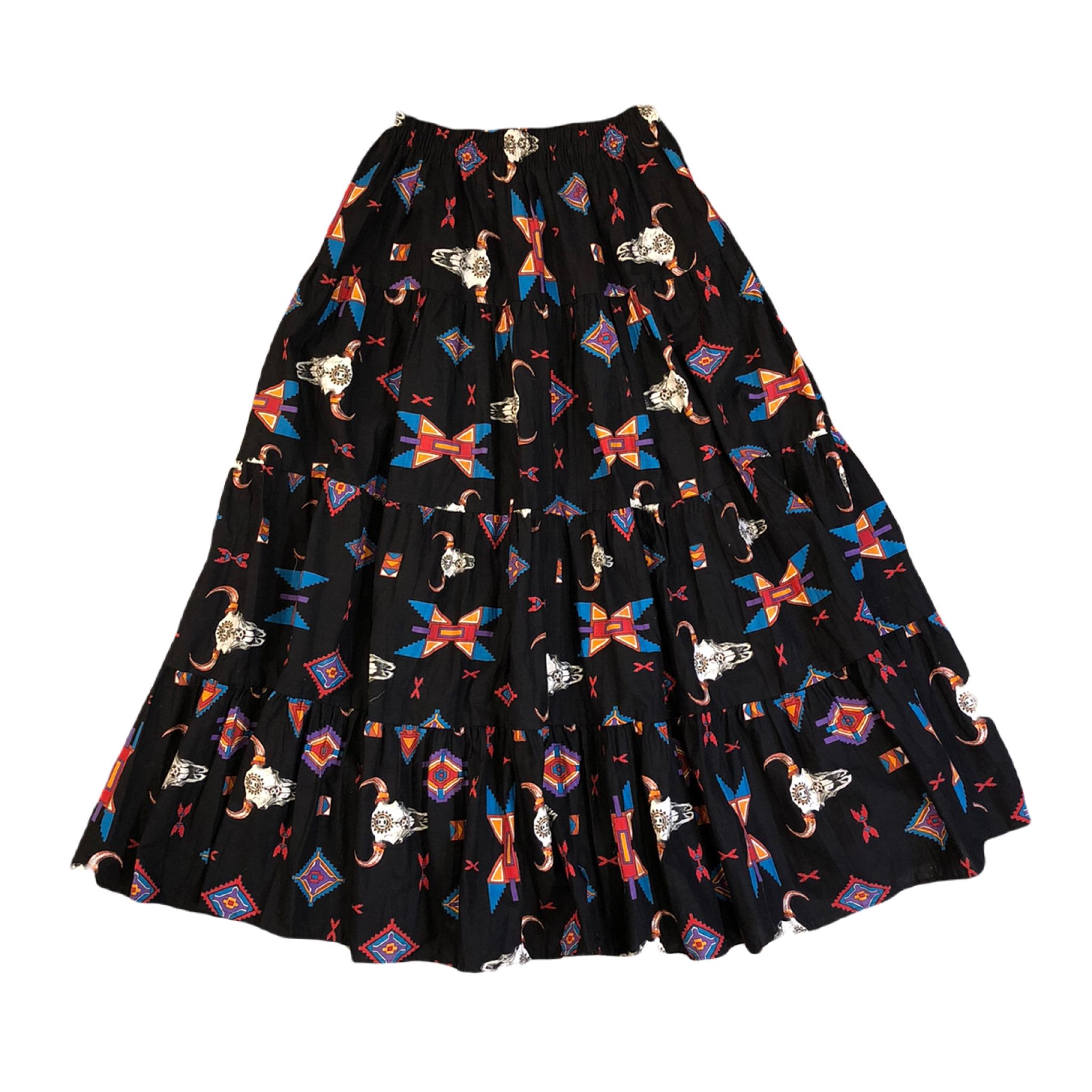 Western Long Skirt ¥6,800+tax