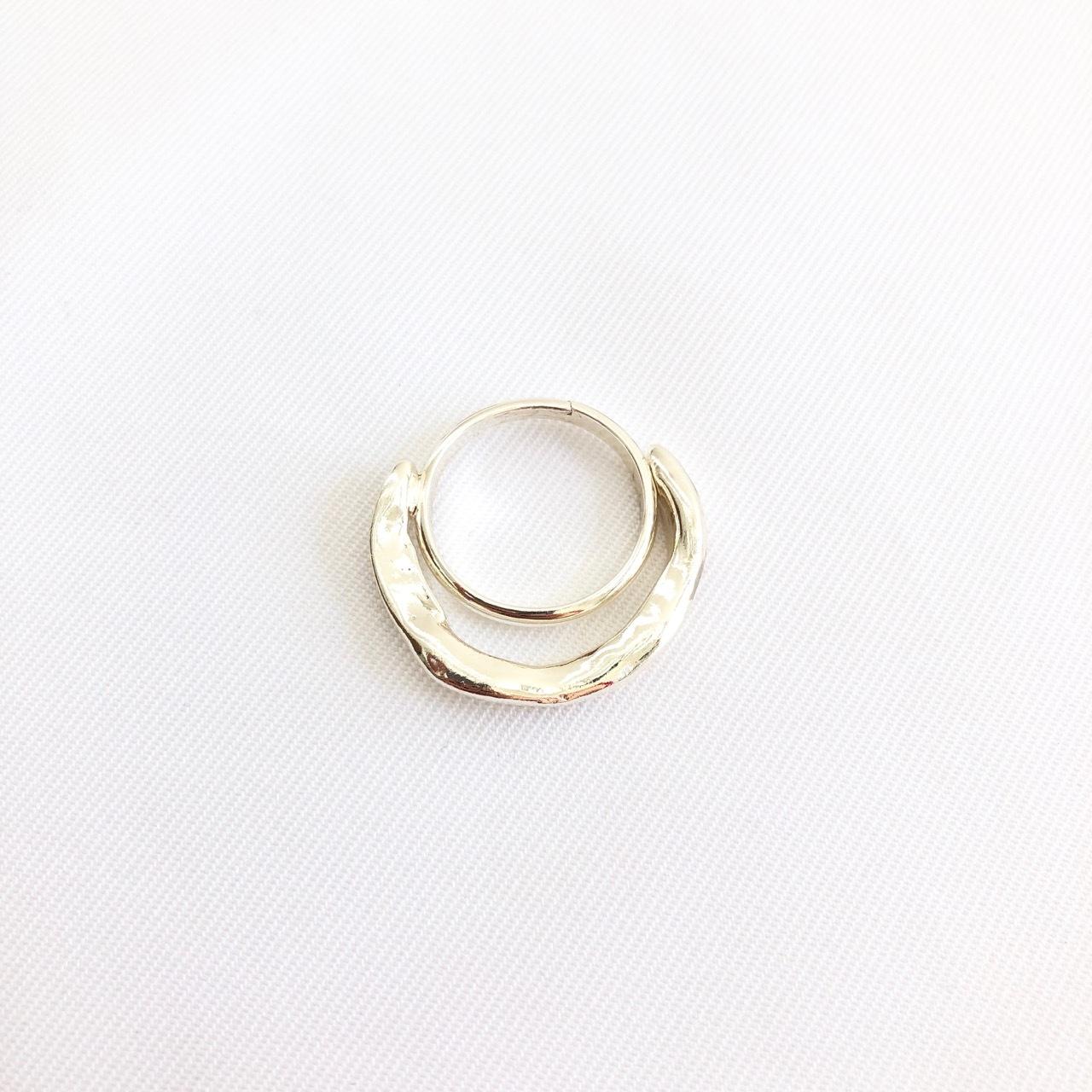 【 SeadsMara 】- 19A3-21 - petit wave ring