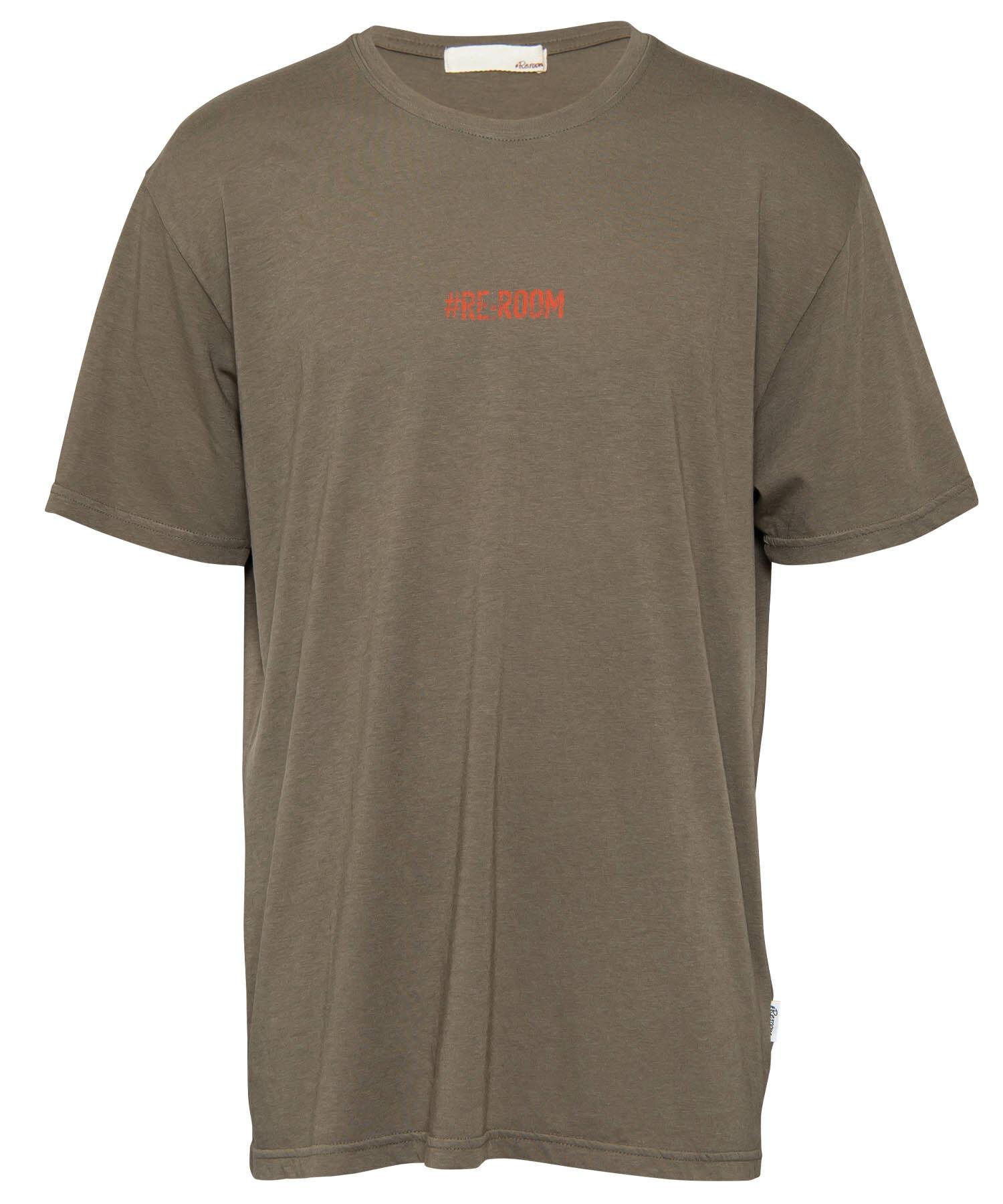 PROMOTION LOGO PRINT VINTAGE T-shirt[REC300]