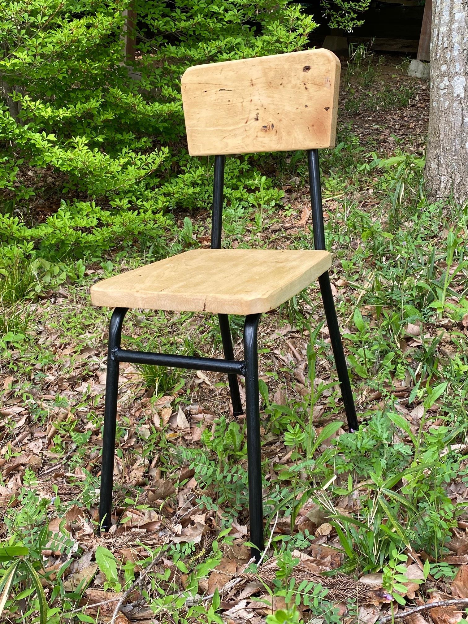 鉄脚食堂椅子 リメイク家具 古家具 古道具