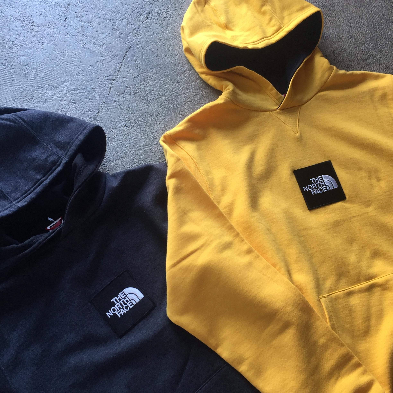 US企画 The North Face Box Logo Hooded Sweatshirt