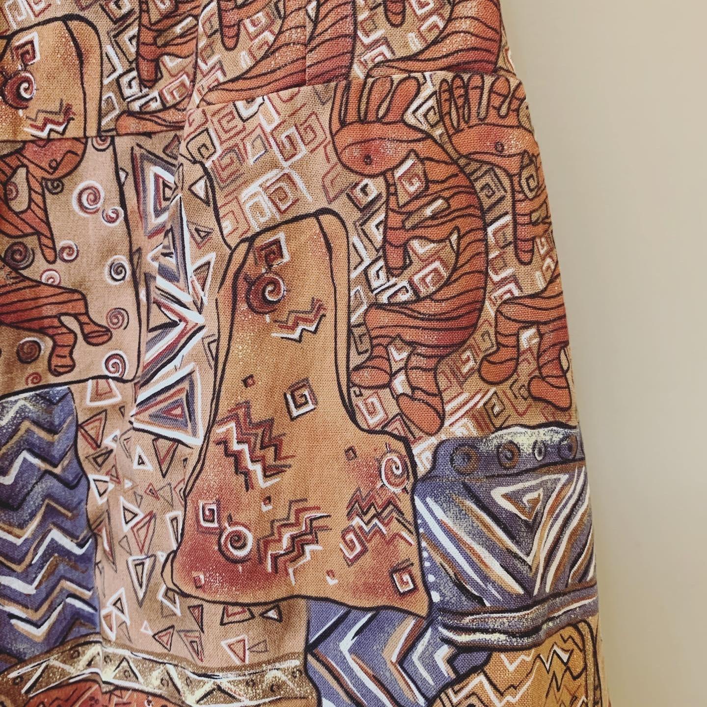 vintage ココペリ design skirt