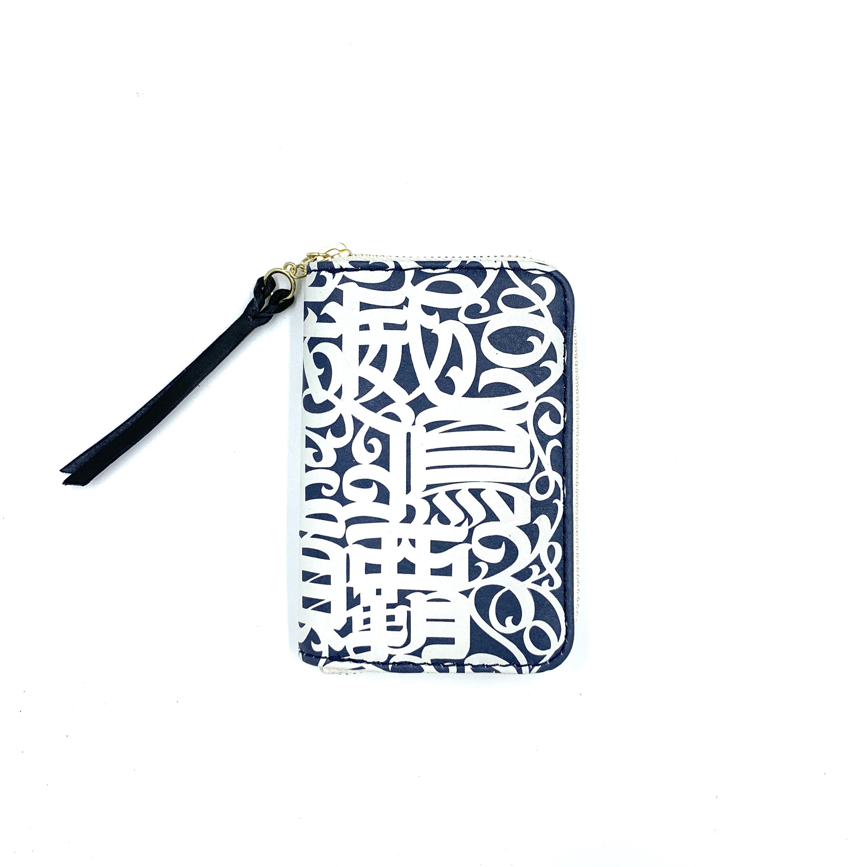 《CASPER× YONZY factory》RZ mini Card Caseネイビー