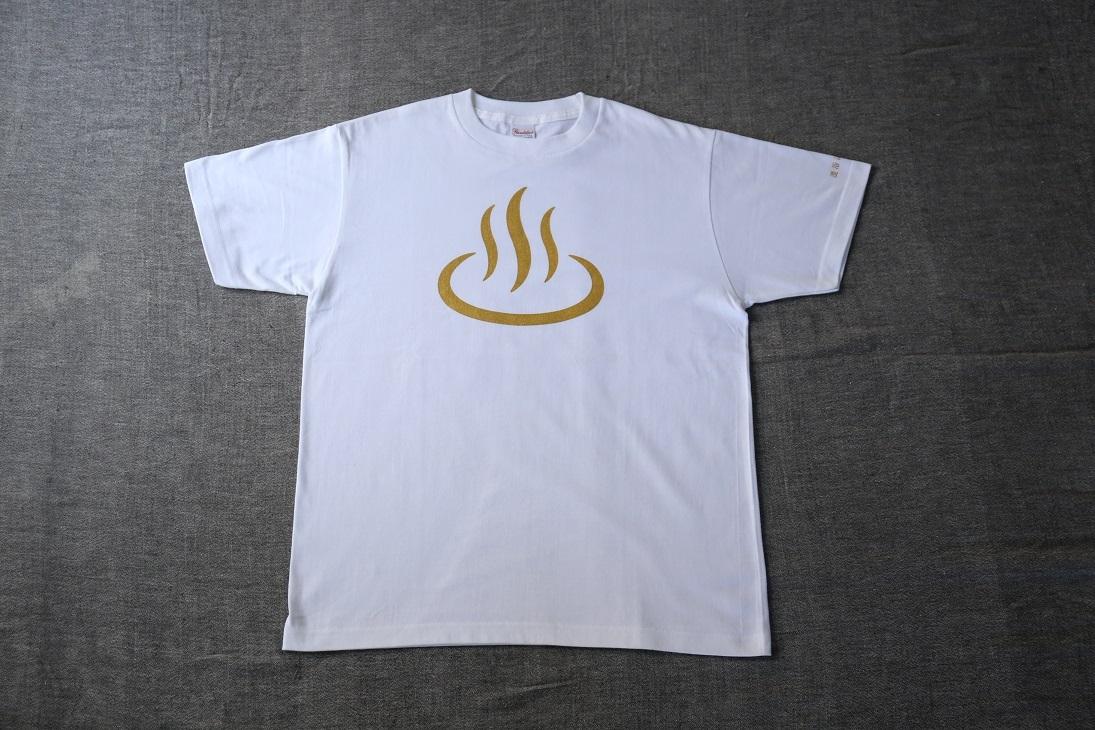混浴温泉世界 温泉マークTシャツ