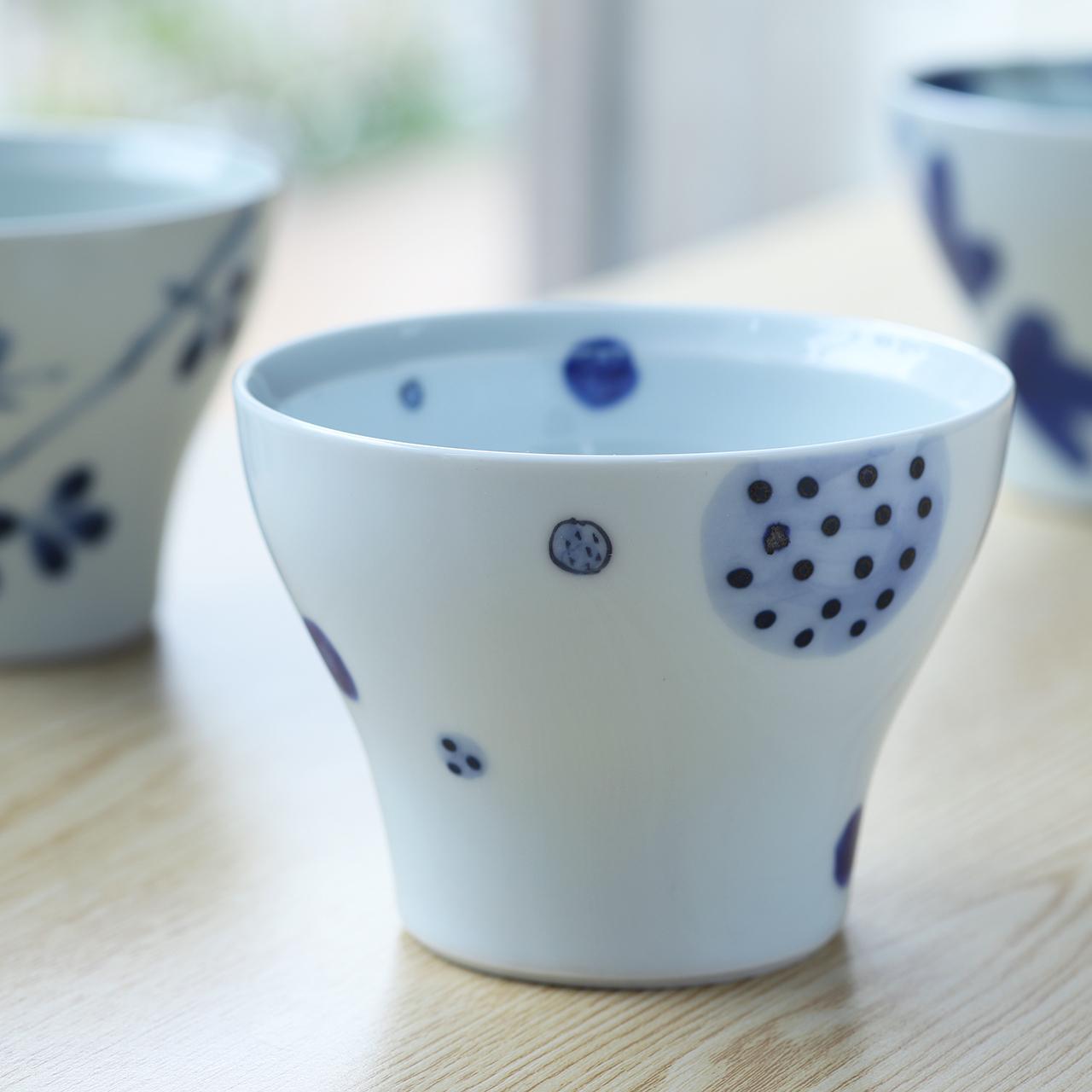 丸紋 和カップ 作:陶房 青(波佐見焼)
