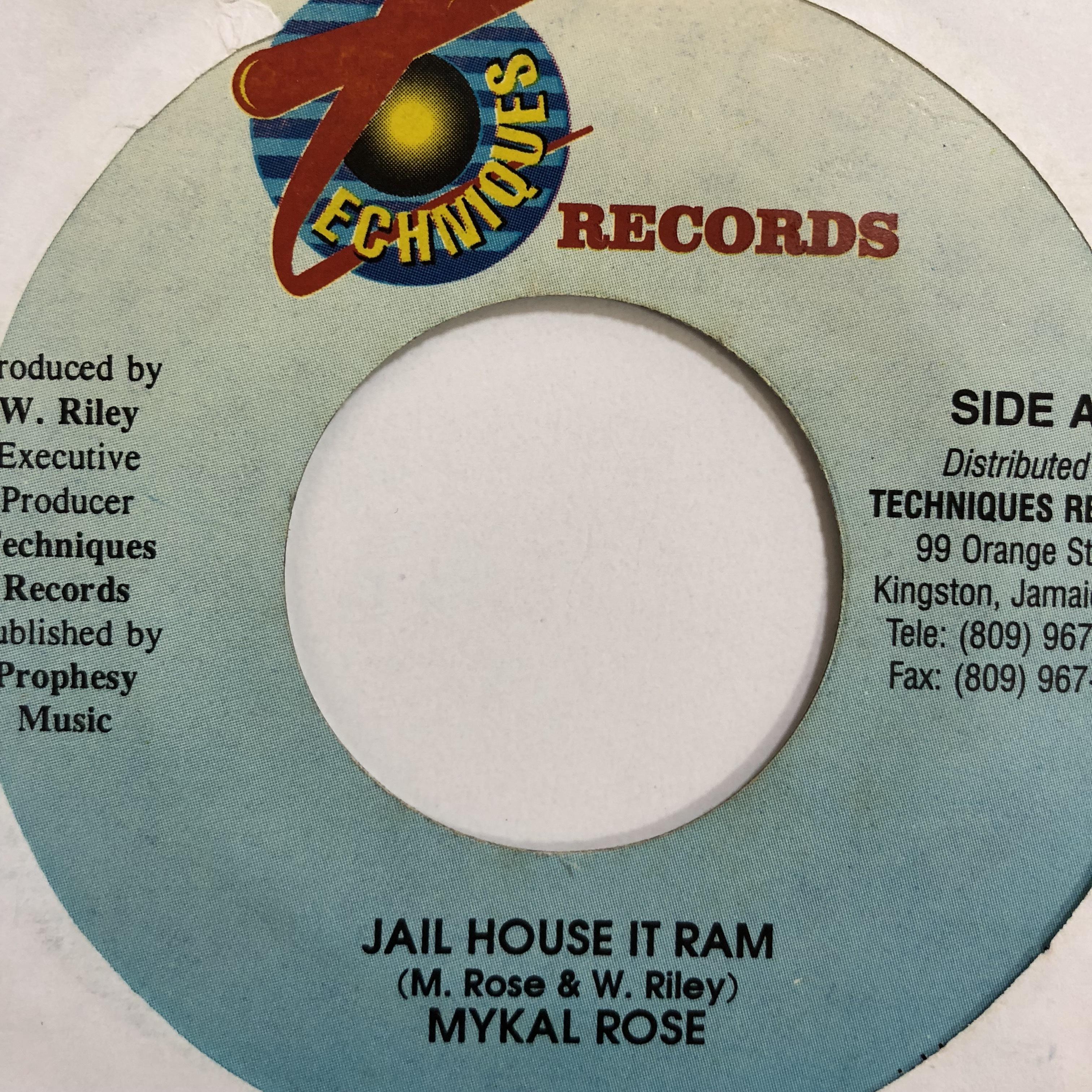 Mykal Rose(マイカルローズ) - Jail House It Ram【7-10747】