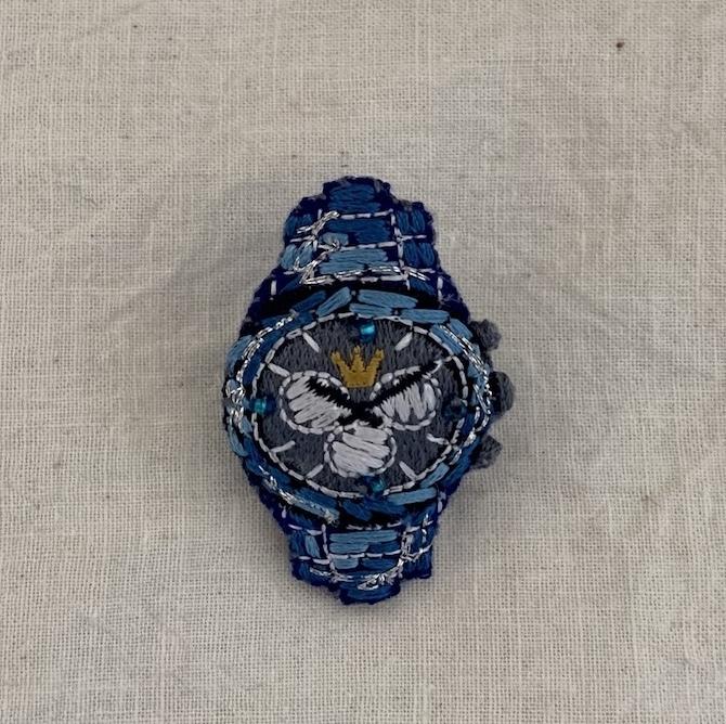 【LM】時計 / ブルー