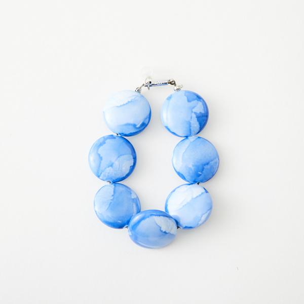 ブレスレット -BLUE-  BEADS