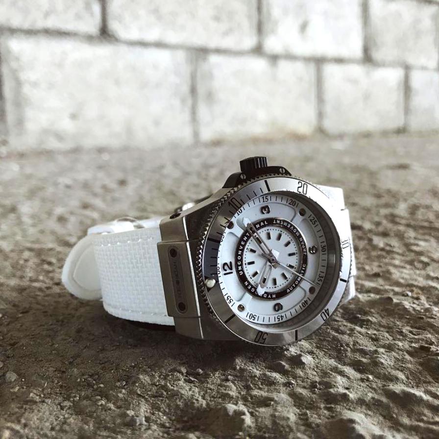 【HYDROGEN WATCH ハイドロゲンウォッチ】HW324200/SPORTIVO スポルティボ(ホワイト)/正規輸入品