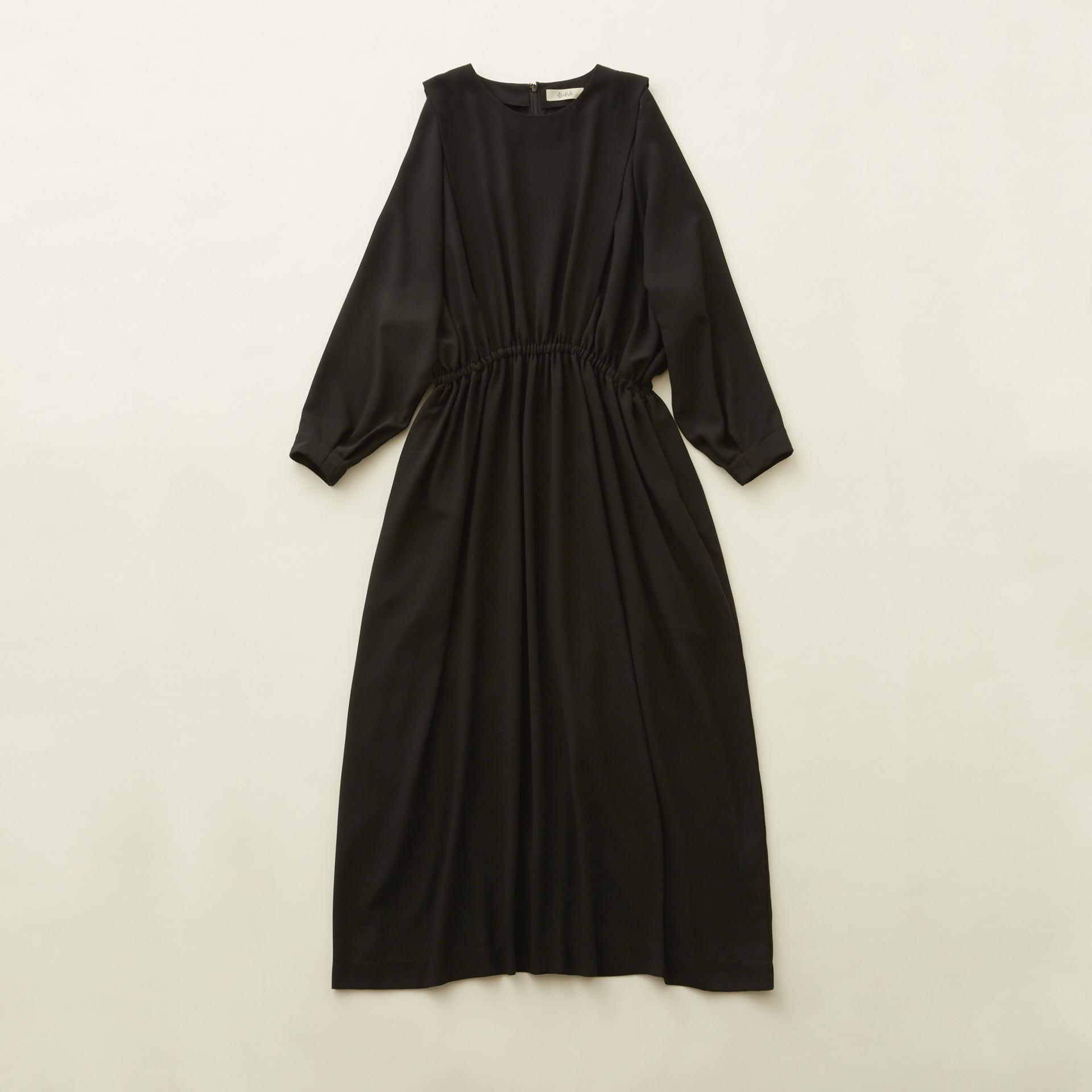 《eLfinFolk 2020AW》witch long dress / black / S(大人)