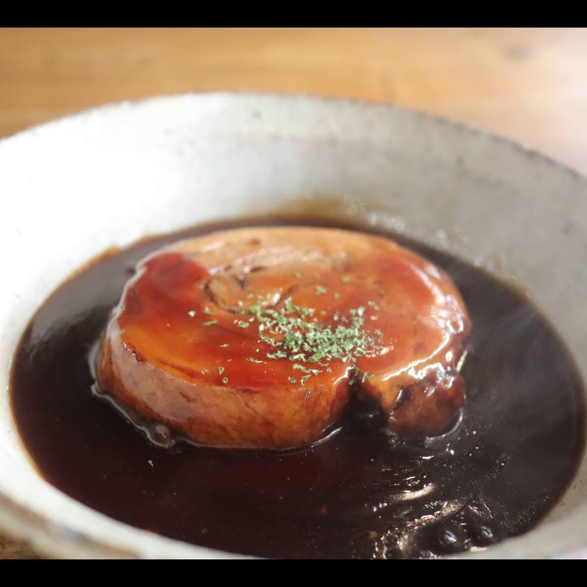 赤ワインを使った洋風焼き豚