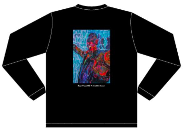 【HG × Masahiko Kimura】ロングスリーブTシャツ ブラック