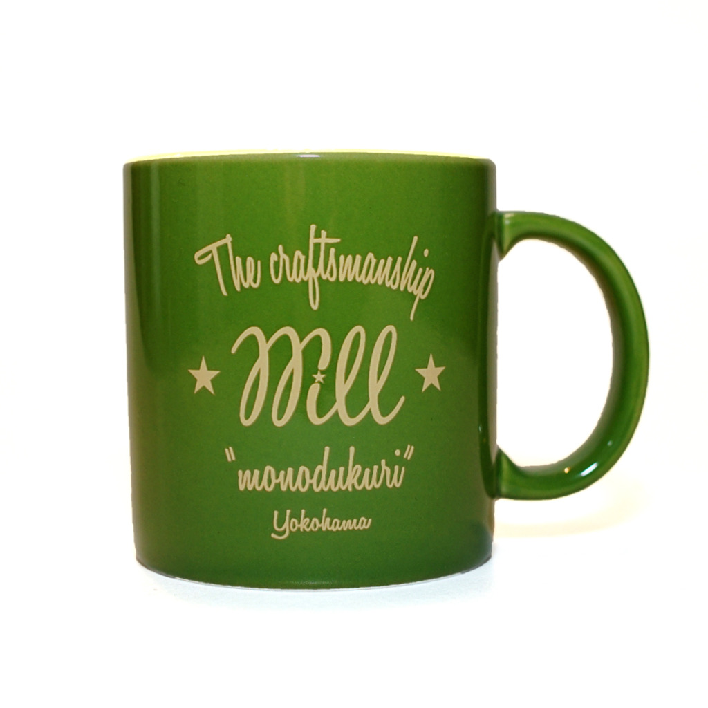 WILL MUGCUP (GREEN)