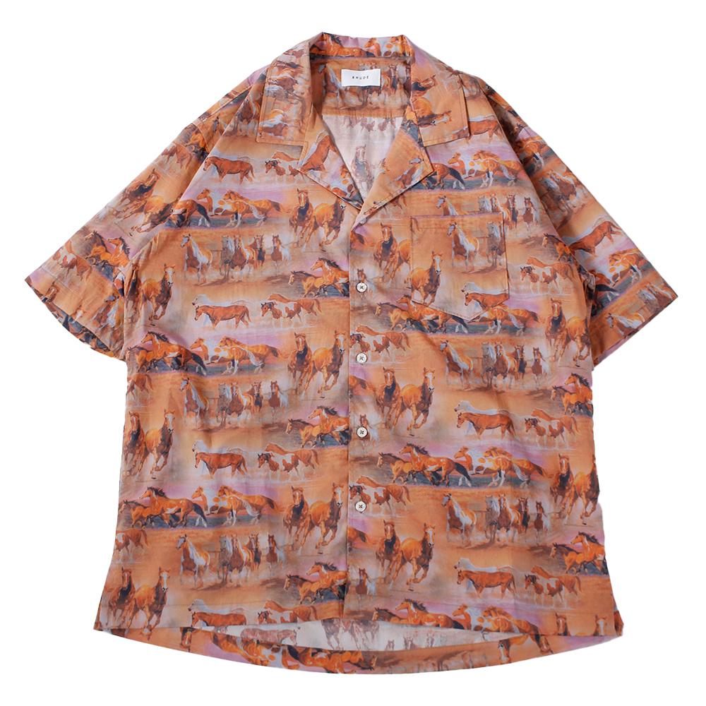 RHUDE Short Sleeve Shirt