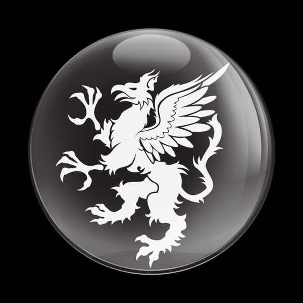 ゴーバッジ(ドーム)(CD0117 - DRAGON 04) - 画像1